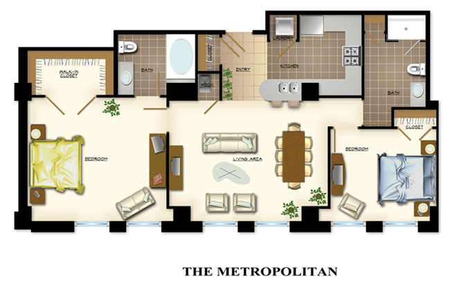 The Carlyle Floor Plans
