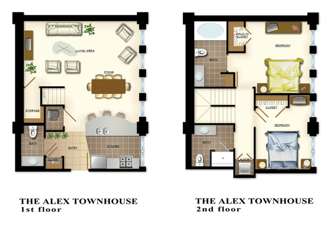 The ALEX TOWNHOUSE